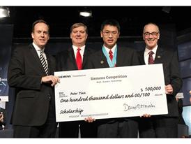 Peter Tian, $100,000 Scholarship, Individual Winner