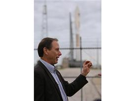 Matt Smith tours the launch pad 1/20/15