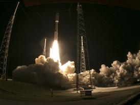 ULA Atlas V Rocket Launch 1/20/15