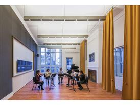 Carngie Hall Practice Room in the Resnick Education Wing/Credit Jeff Goldberg-ESTO
