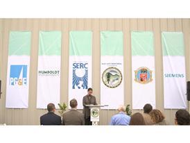 Siemens Blue Lake Rancheria Microgrid Launch Event 8/24/15