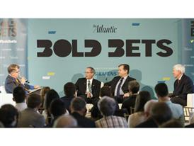 The Atlantic's Bold Bets event underwritten by Siemens 10/8/15