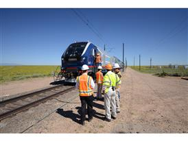 Siemens Charger Locomotive Testing, TTCI, Pueblo, CO 8_9_16