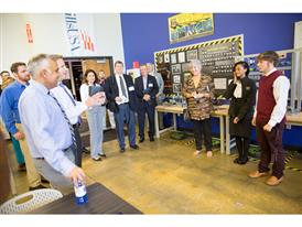 KIA/Siemens THINC Academy Donation Event - West Point, GA