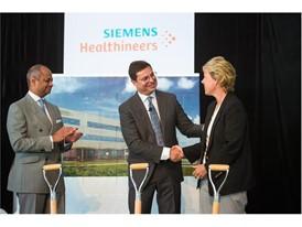 Siemens Walpole Groundbreaking Event Photo