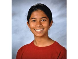 Rachana Madhukara - 2017 Siemens Competition National Finalist