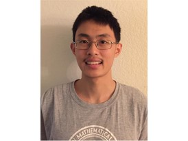 Kevin Ren - 2017 Siemens Competition National Finalist