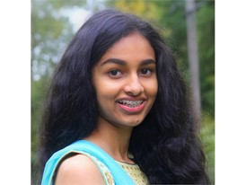Harshita Musunuri - 2017 Siemens Competition National Finalist