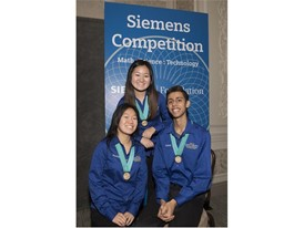 Rachel Li, Chelsea Wang, and Jainil Sutaria - National Finalist - Team