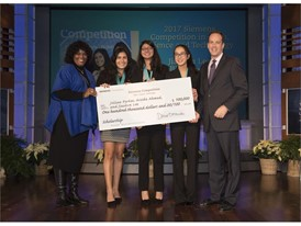 Jillian Parker, Jiachen Lee and Arooba Ahmed, Team Winner