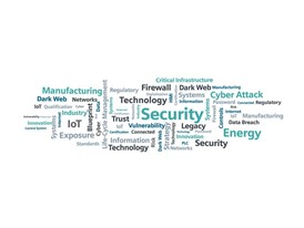 Cybersecurity Word Cloud Still
