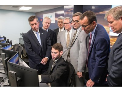 UCF and Siemens unveil state of the art lab to turn students into digital grid tech experts