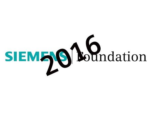 Siemens Foundation 2016 Logo