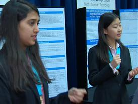 Alyssa Chen and Shriya Das, Team Finalists B-Roll