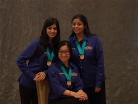 Priyanka Wadgaonkar,  Zainab Mahmood, and JaiWen Pei, Team Finalists B-Roll