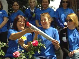 The Baton Pass at City of Hope B-Roll