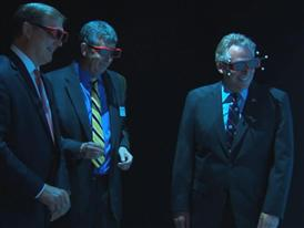 Governor Terry McAuliffe tours CCAM's 3D visualization lab with Siemens BRoll 6/4/14