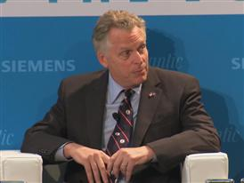 Terry McAuliffe, Governor, Commonwealth of Virginia 6/4/14