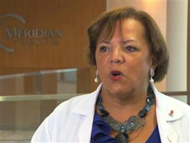 Dr. Denise Johnson Miller, Medical Director, Breast Surgery, Jersey Shore University Medical Center 8/21/14