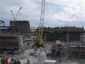 BROLL – FPL Port Everglades Clean Energy Center Construction