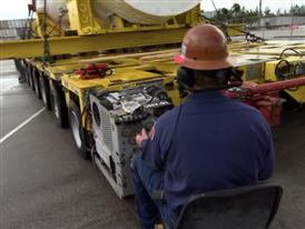 BROLL – H-Class Turbine Delivery at Port of Everglades