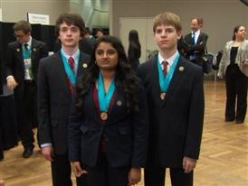Shakthi Shrima, Jacob Gurev, and Adam Forsyth, Team Finalists B-Roll