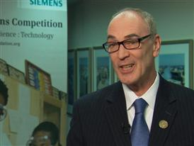 Dr. Robert Miller, Lead Judge, 2014 Siemens Competition