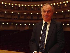 Clive Gillinson, Carnegie Hall Creative & Artistic Director