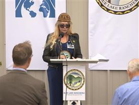 Arla Ramsey, Vice Chair, Blue Lake Rancheria 8/24/15