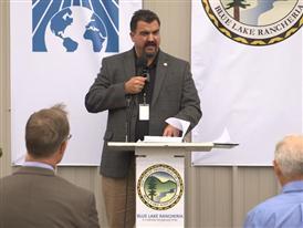 Jason Ramos, Blue Lake Rancheria Tribal Leader 8/24/15