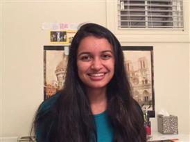 Anjini Karthik, Competitor Selfie Video