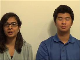 David Zhu & Evani Radiya-Dixit, Competitor Selfie Video
