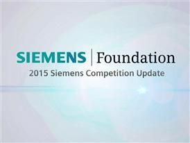 2015 Siemens Competition Update