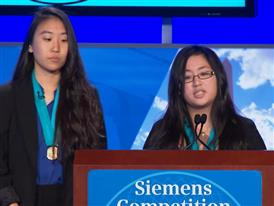 Kimberly Te and Christine Yoo, Team Finalists B-Roll