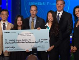 Kimberly Te & Christine Yoo: 2015 Siemens Competition Team Winner