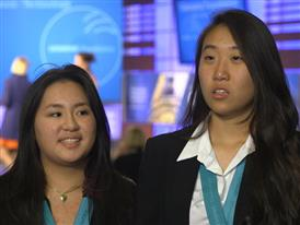 Kimberly Te and Christine Yoo, Team Winner Soundbites
