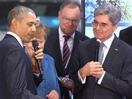 President Obama talks about Siemens presenting him with a digitally manufactured Callaway Golf Club