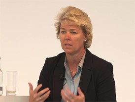 Lisa Davis, Managing Board Member, Siemens AG, talks at Hannover Messe about digital future of the Oil and Gas industry