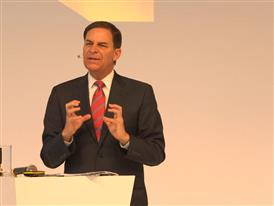 Jay Timmons, President & CEO, National Association of Manufacturers talks at Hannover Messe about The Internet of Things