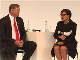 US Secretary of Commerce Penny Pritzker on Siemens