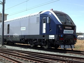 Siemens Charger Locomotive B-Roll