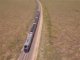 Siemens Charger Locomotive Testing, TTCI, Pueblo, CO - Aerials