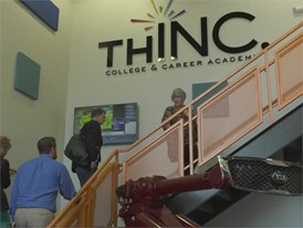 THINC College and Career Academy Tour B-Roll