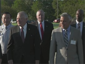 Georgia Governor Nathan Deal meets with Kia and Siemens B-Roll