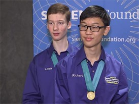 Louis Golowich & Richard Zhou, Team Finalists B-Roll
