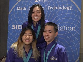 Katherine Cao, William Hu & Alice Wu, Team Finalists B-Roll