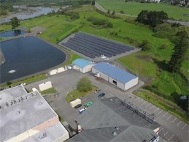 Blue Lake Rancheria Flyover Footage of Microgrid