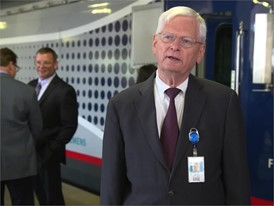 Michael Franke, Senior Director, Amtrak on new Charger locomotive