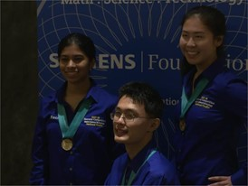Kevin Ren, Rachana Madhukara and Anlin Zhang - National Finalist - Team