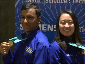 Katherine Tian and Swapnil Garg - National Finalist - Team